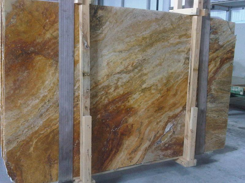 Travertine Scabos Slab Turkish Travertine Slabs