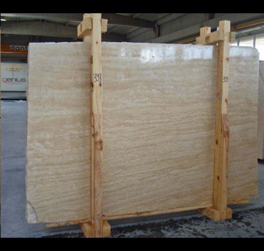 Travertine Veincut Slabs Polished Beige Travertine Stone Slabs