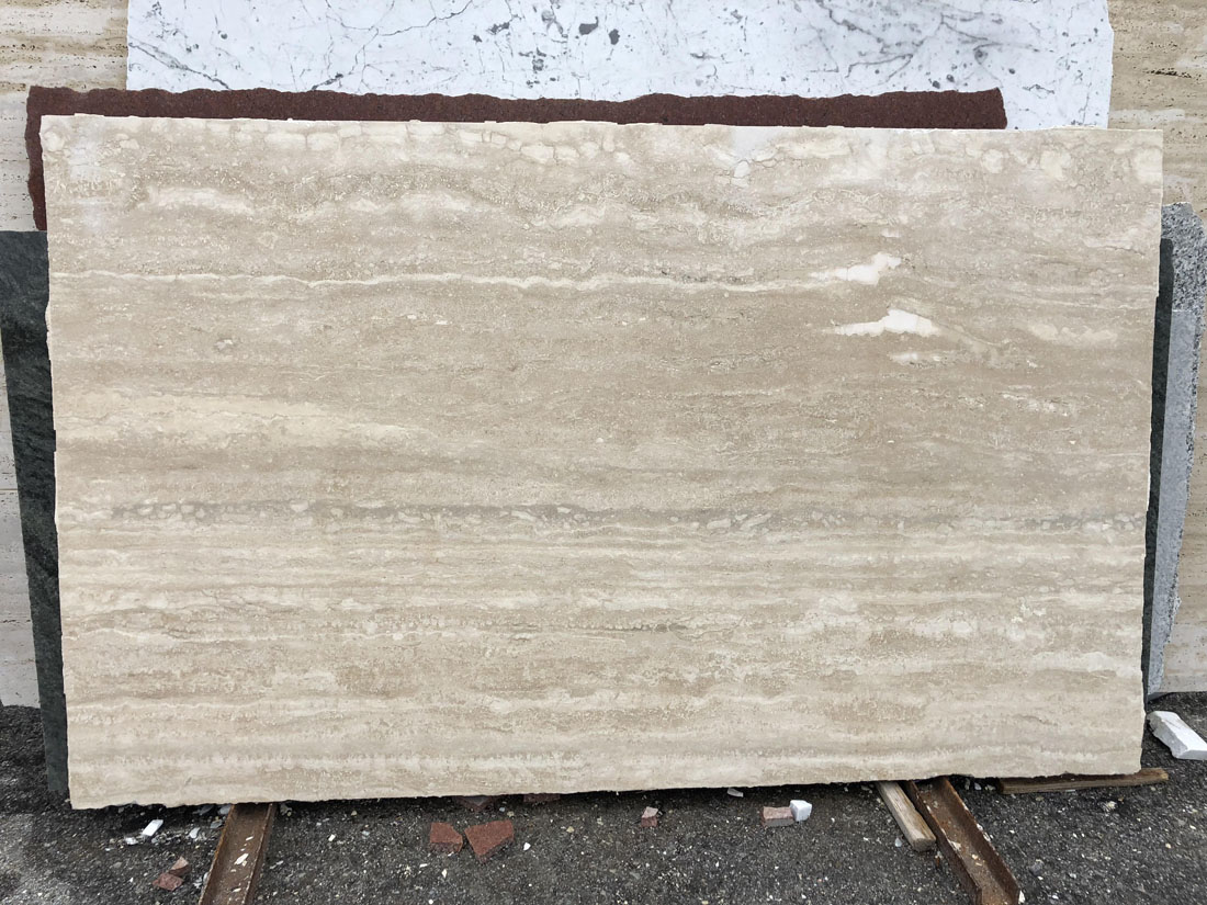 Travertino Cross Cut Beige Travertine Slabs