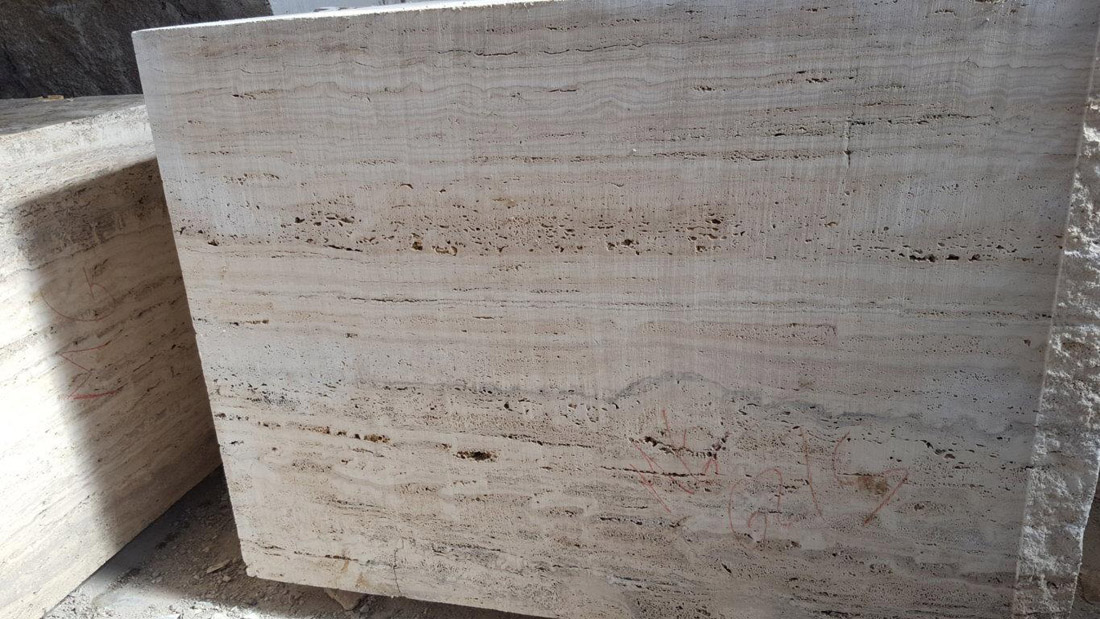 Travertino Dore Natural Beige Travertine Blocks