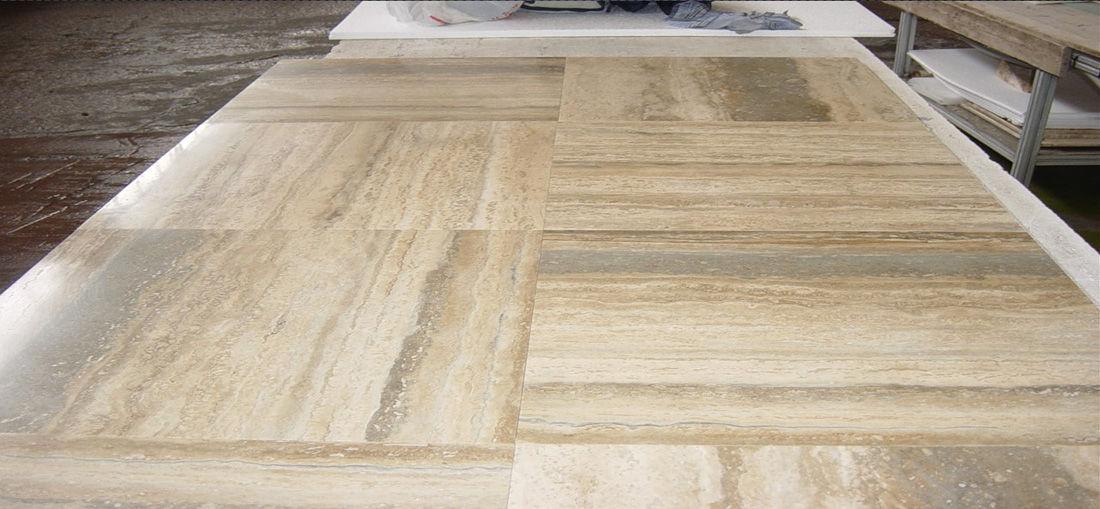 Travertino Ocean Silver Tiles for Flooring and Walling