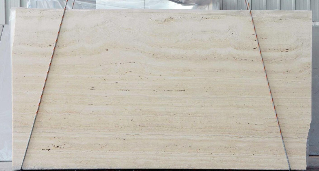 Travertino Romano Navona Extra Beige Travertino Slabs