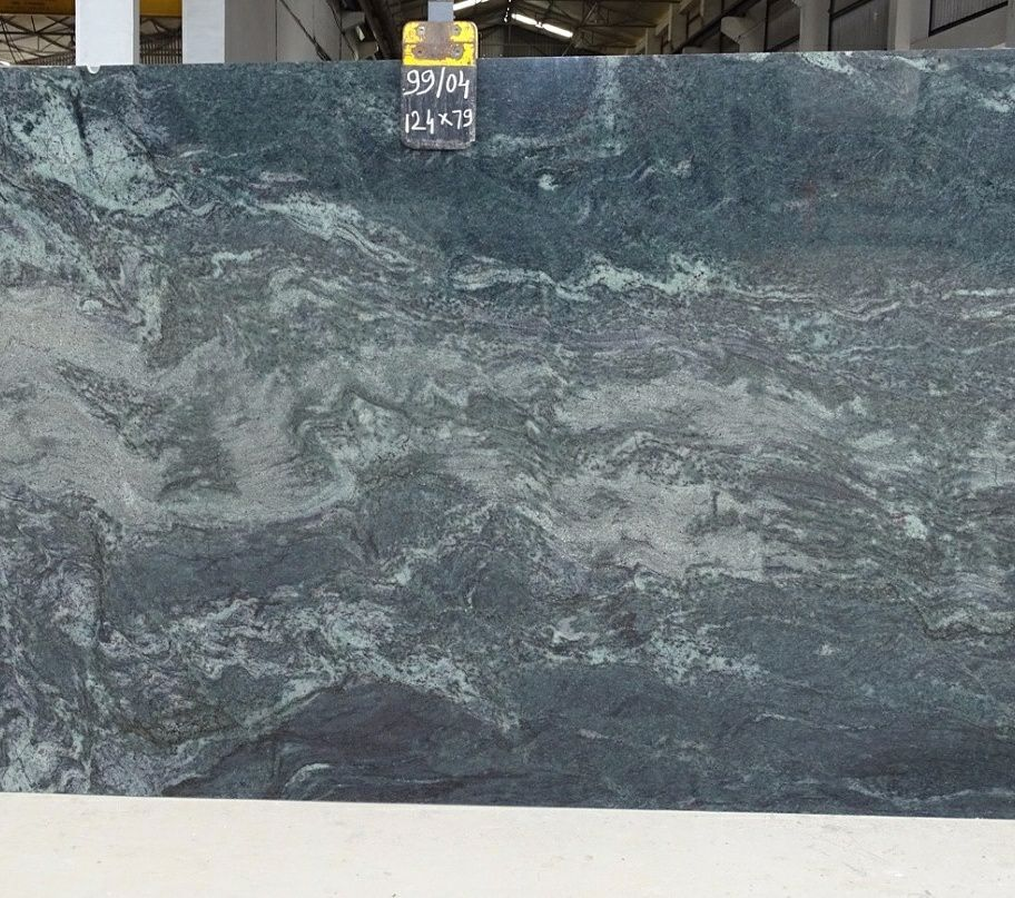 Tropical Green Granite Slabs from Indian Direct Supplier