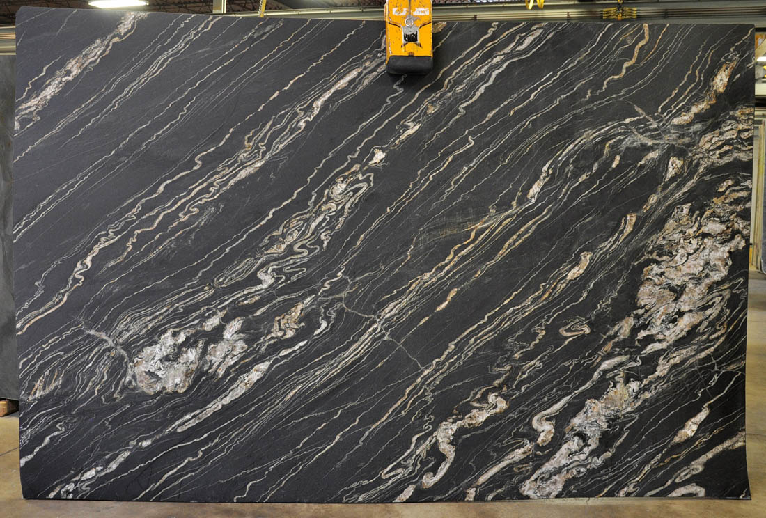 Tropical Storm 3cm Leather Granite Slabs for Kitchen Countertops