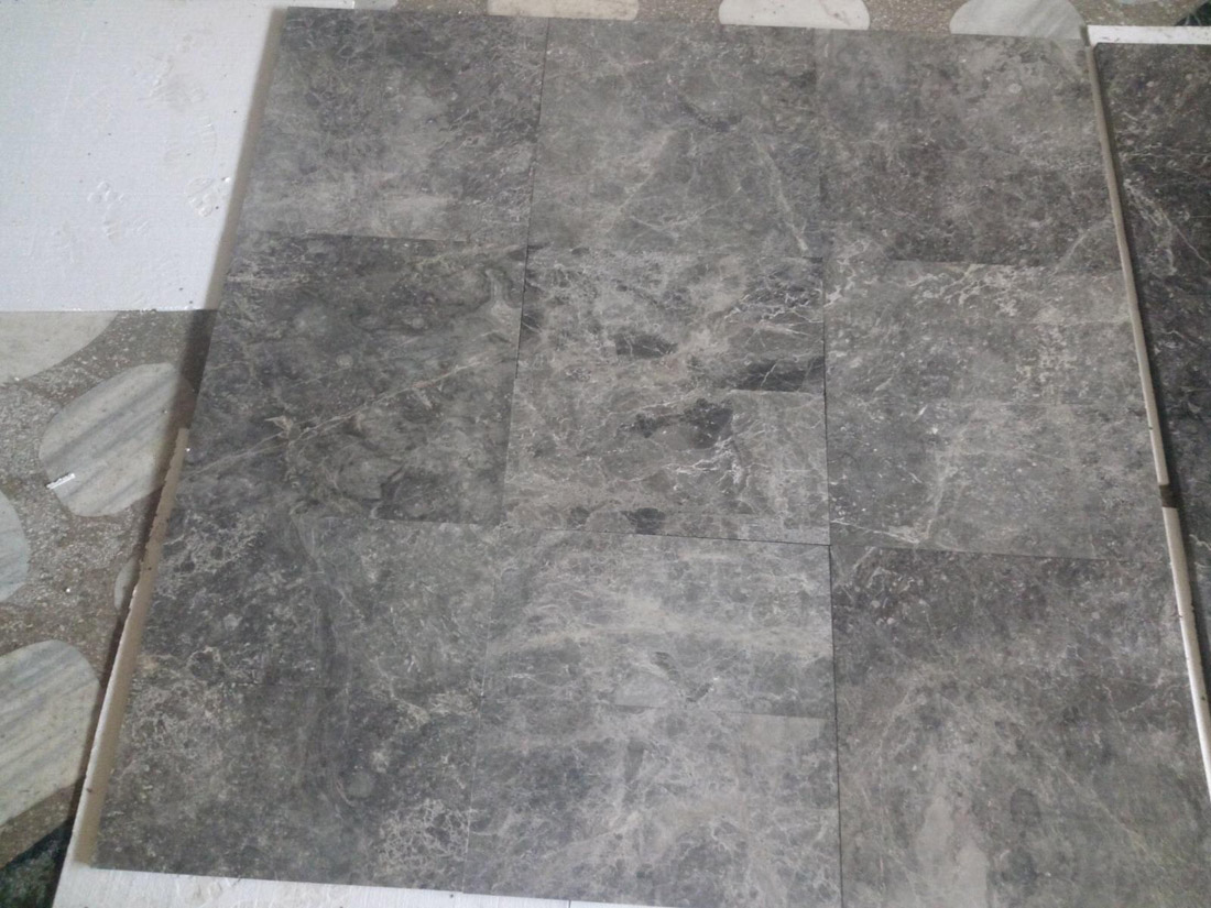 Tundra Blue Marble Stone Tiles for Bathroom Floors and Walls
