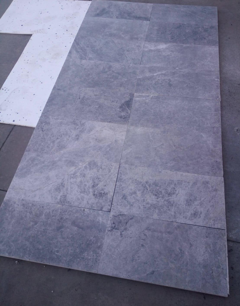 Tundra Blue Tiles Turkish Marble Flooring Tiles