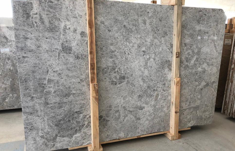 Tundra Grey Marble Grey Marble Slabs from Turkey
