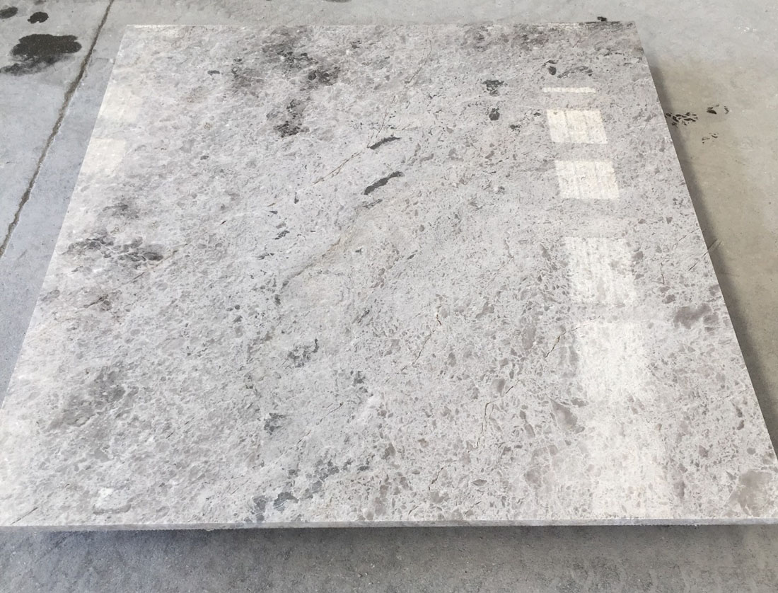 Tundra Grey Marble Tiles Turkish Polished Grey Marble Tiles for Flooring