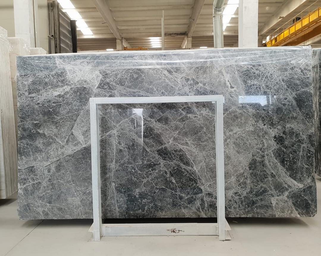 Tundra Grey Slabs Polished Grey Marble Slabs