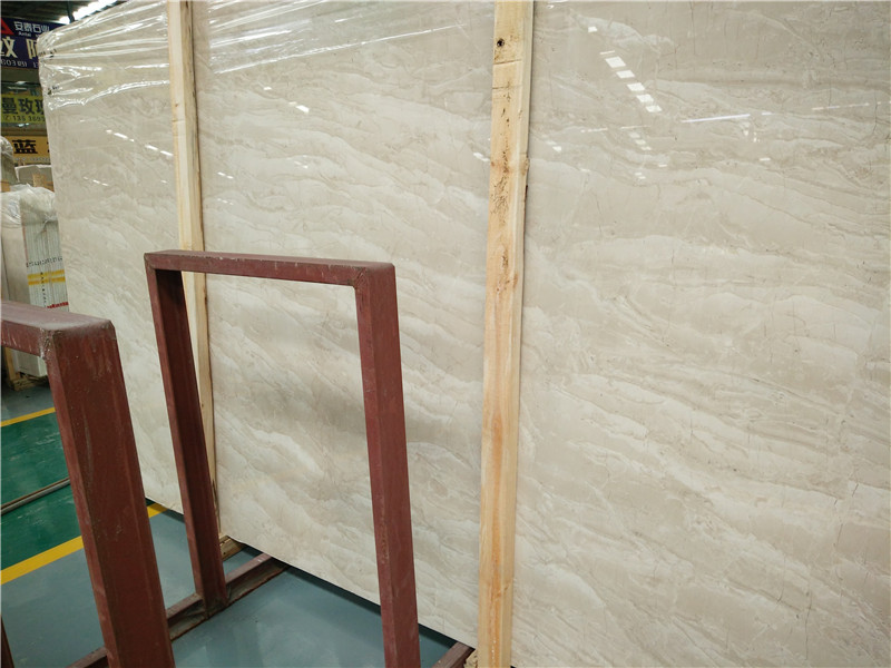 Turkey Amasya Beige Marble Slabs Polished Slabs