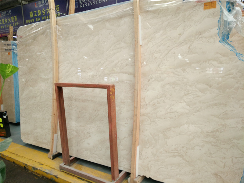 Turkey Amasya Beige Marble Slabs