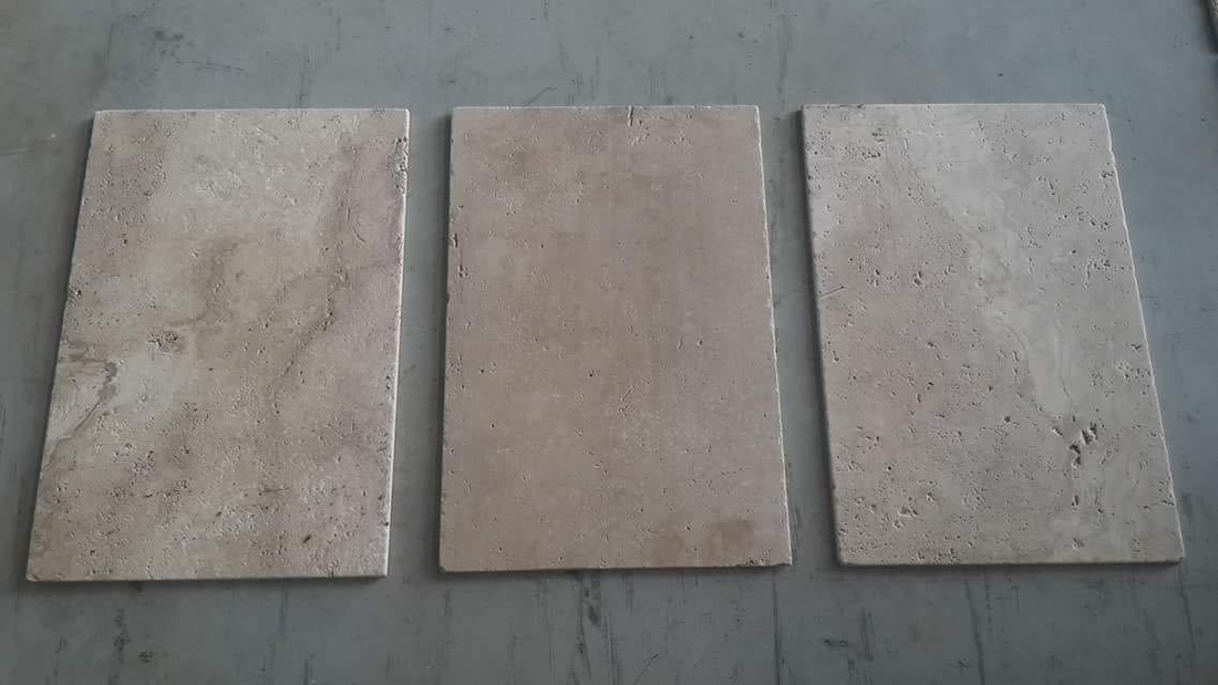 Turkey Brown Travertine Tiles