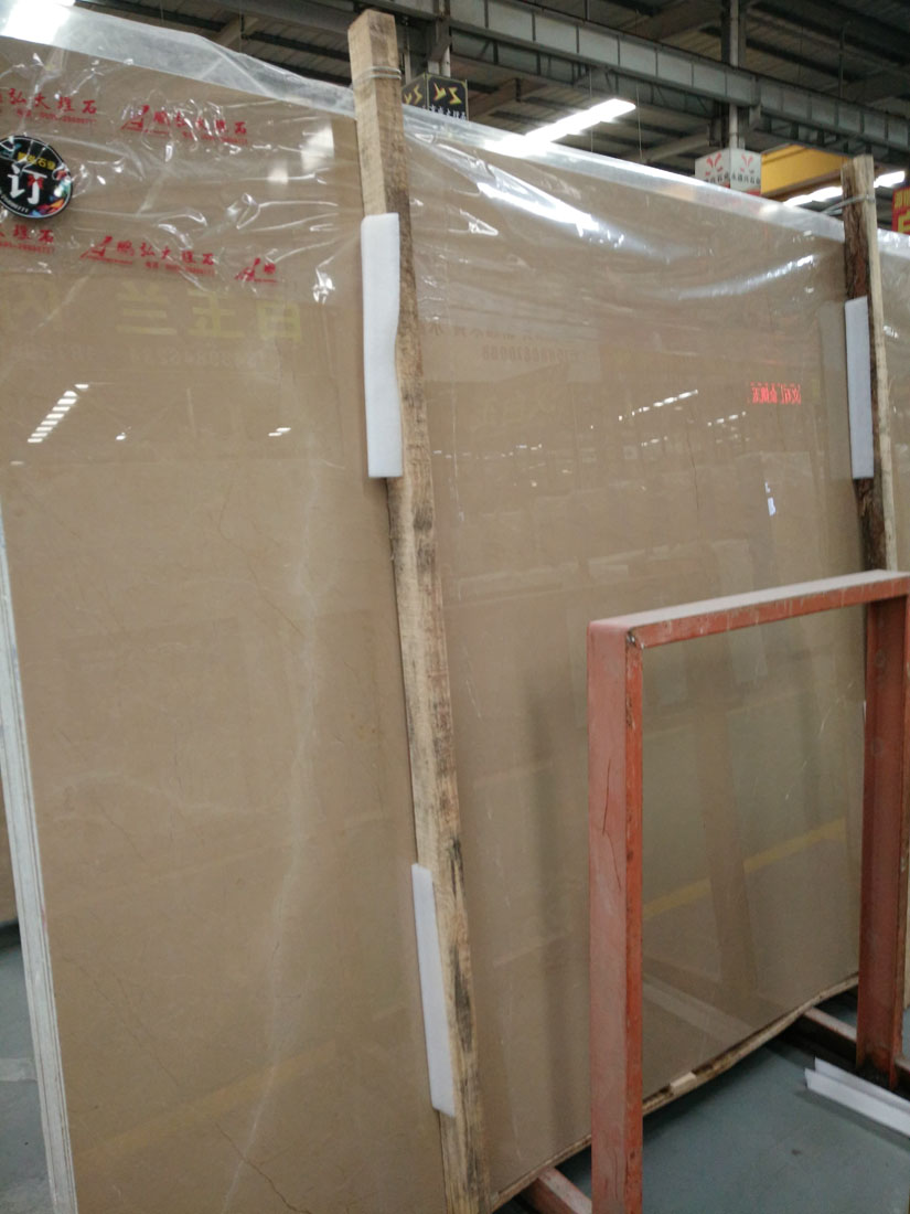 Turkey Bursa Beige Marble Polished Marble Slabs