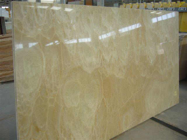 Turkey Nicole Yellow Onyx Polished Onyx Slabs