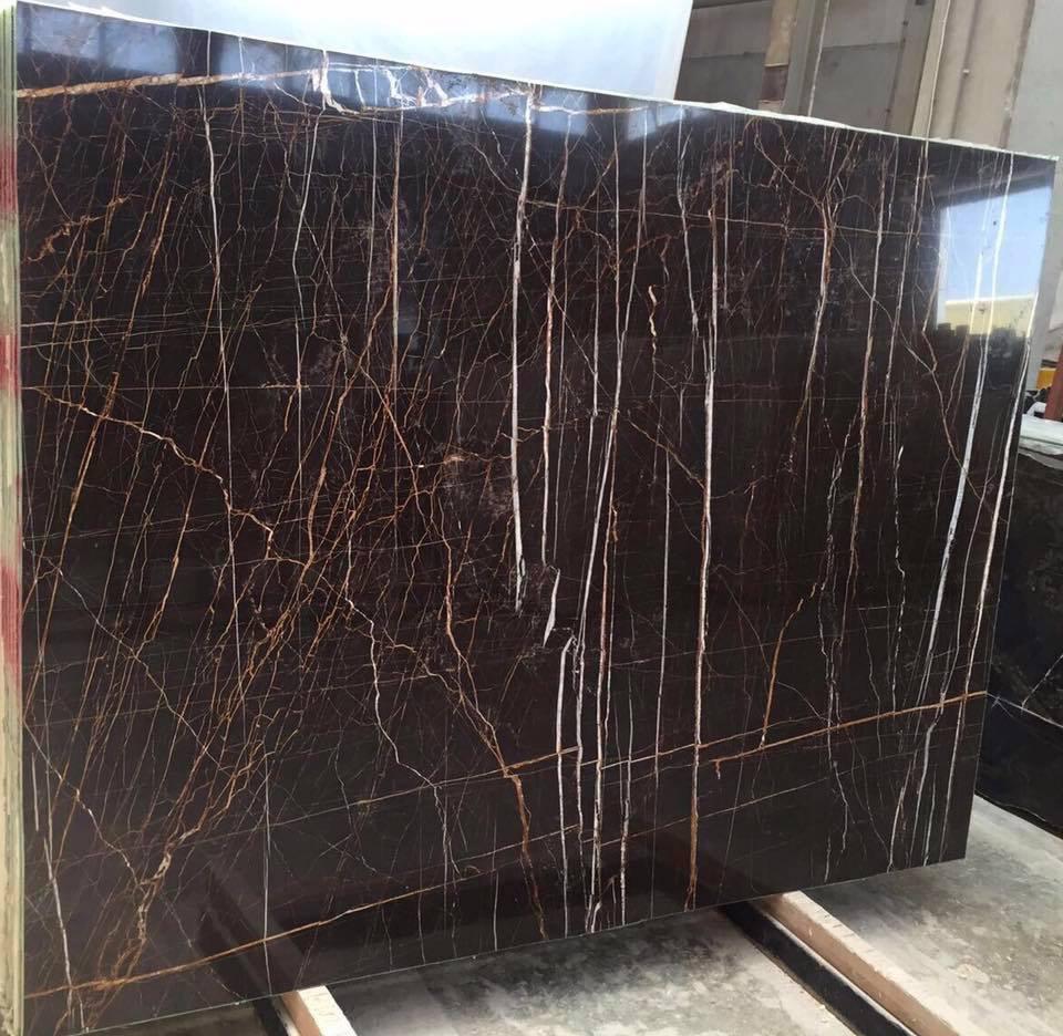 Turkey Sahara Noir Marble Black Polished Marble Slabs