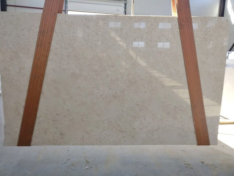 Turkish Antalya Beige Marble Slabs Polished Marble Slabs