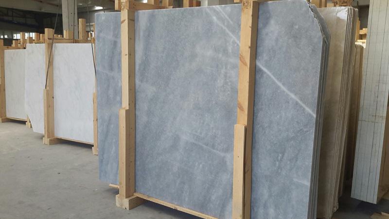 Turkish Bardiglio Marble Slabs Polished Grey Marble Stone Slabs
