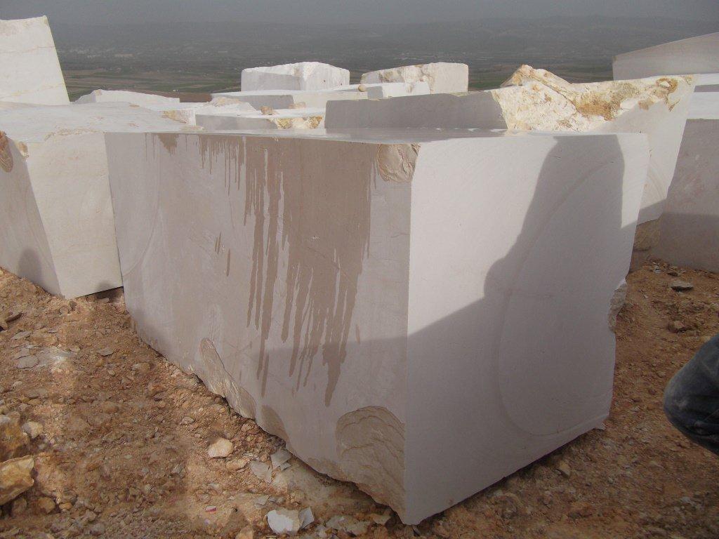 Turkish Beige Marble Blocks Kazan Light Marble Blocks
