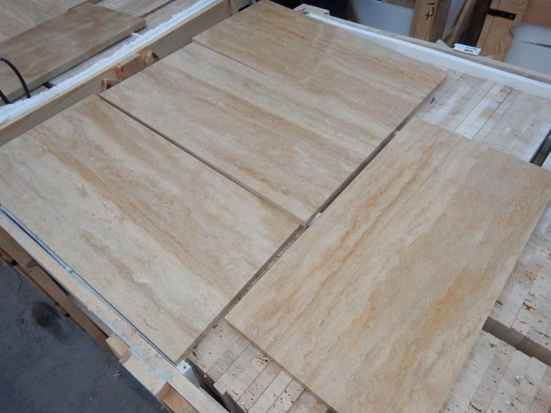 Turkish Beige Travertine Tiles for Flooring