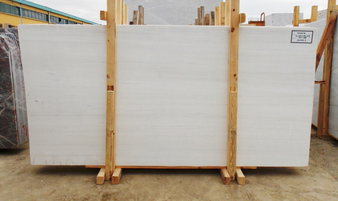 Turkish Bianco Dolomite Marble Slabs Polished White Stone Slabs
