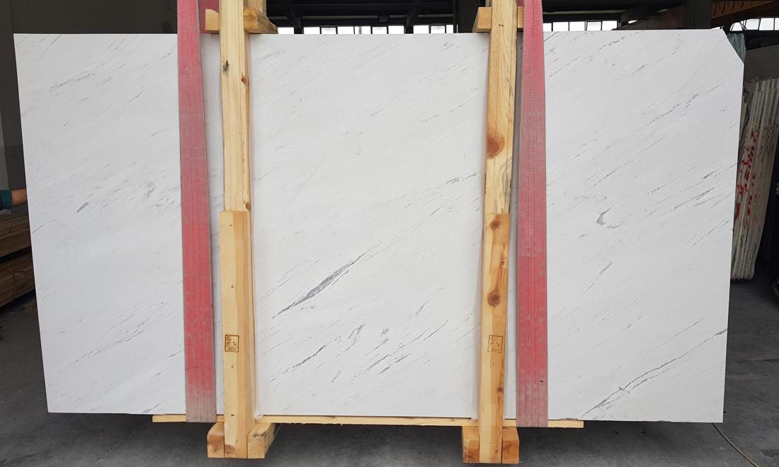 Turkish Bianco Sivec Marble Slabs Premium White Stone Slabs
