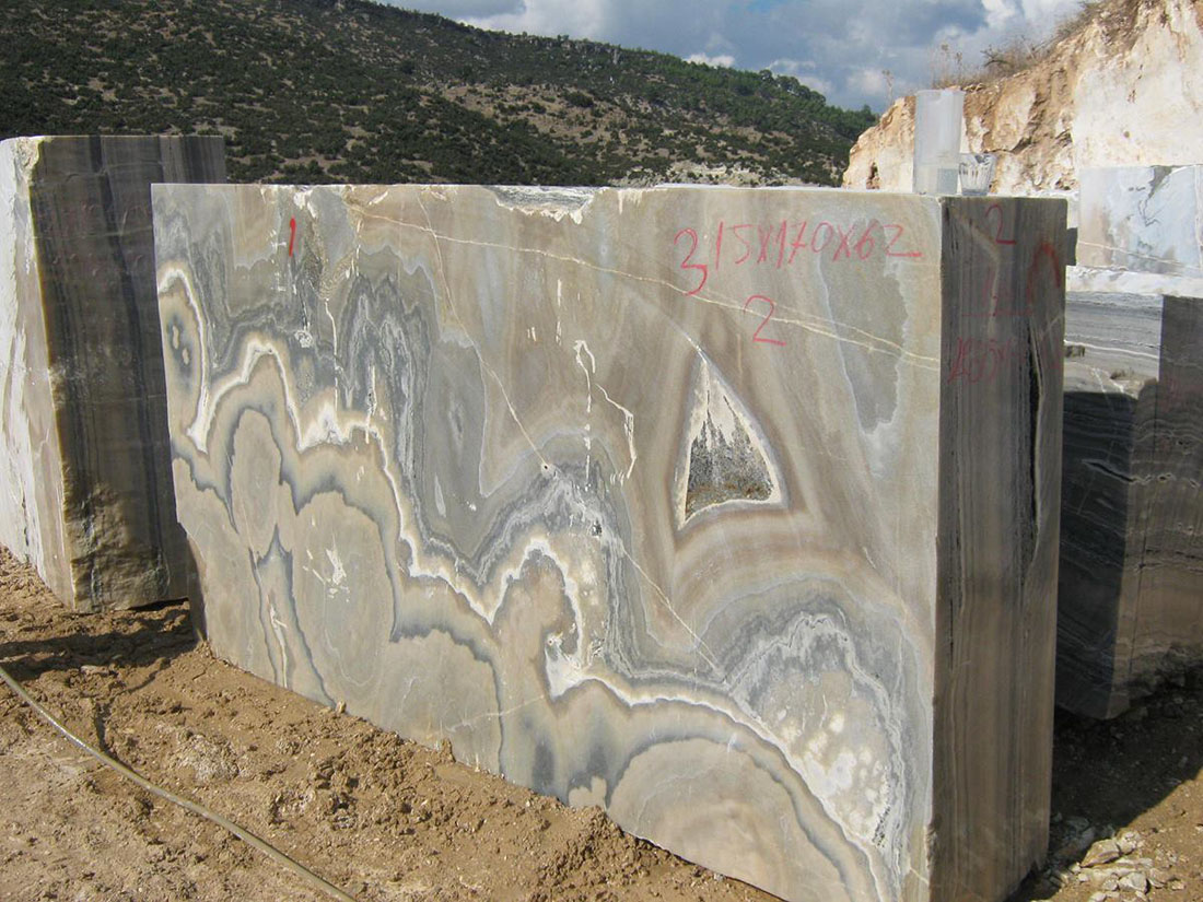 Turkish Blue Onyx Blocks for Export