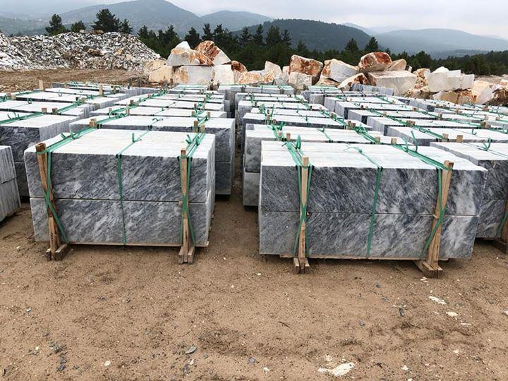 Turkish Bursa White Marble Tiles