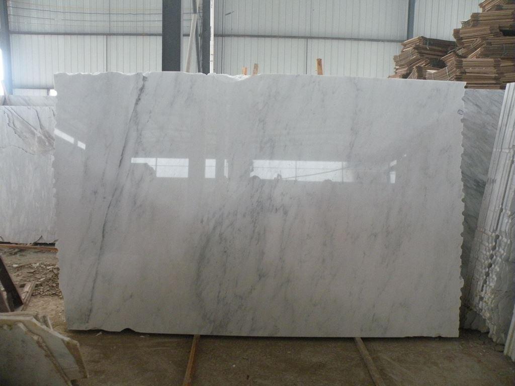 Turkish Calacatta Slab White Polished Stone Marble Slabs
