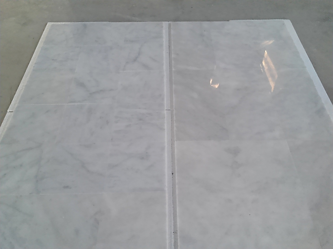Turkish Carrara White Polished Marble Tiles for Walling and Flooring