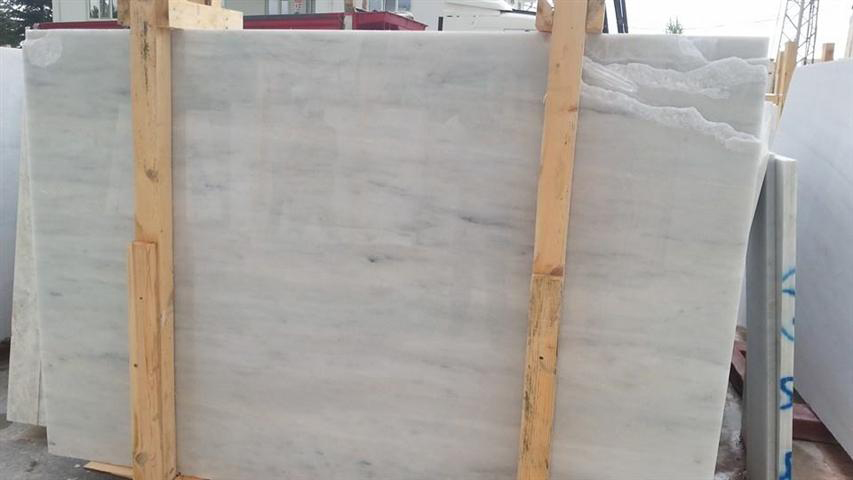 Turkish Carrara White Slab Polished Marble Slabs