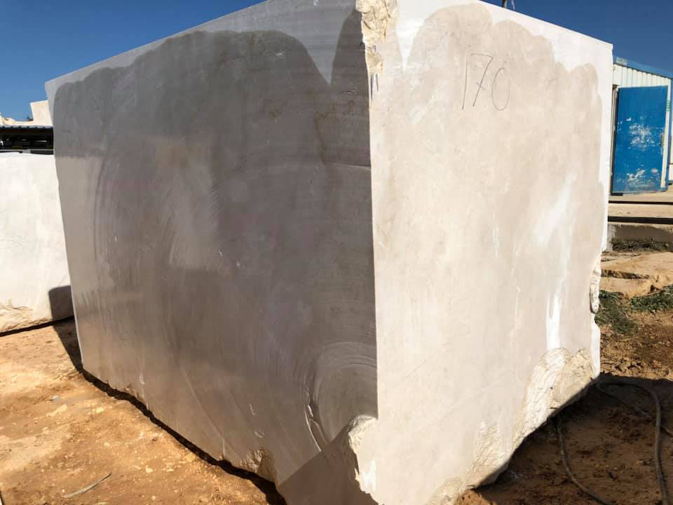 Turkish Crema Nuova Big Natural Marble Blocks