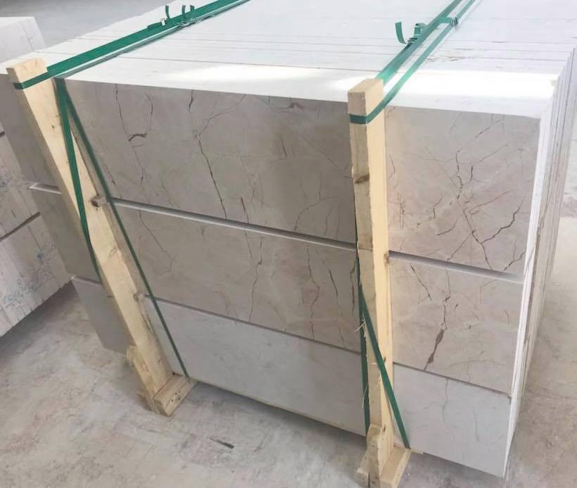 Turkish Eagle Beige Marble Tiles for Flooring