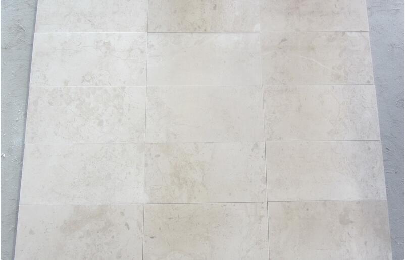 Turkish Elite Beige Marble Tiles Polished Beige Marble Flooring Tiles