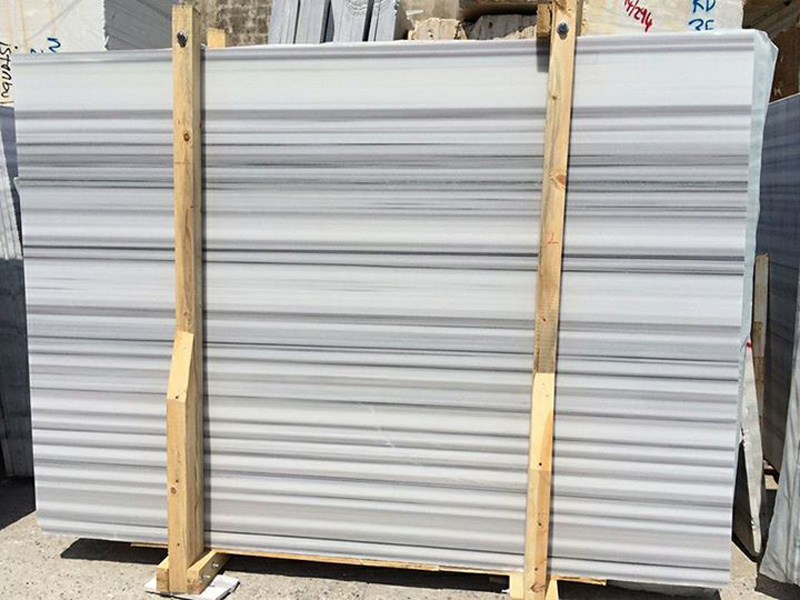 Turkish Equator Slabs White Polished Marble Slabs