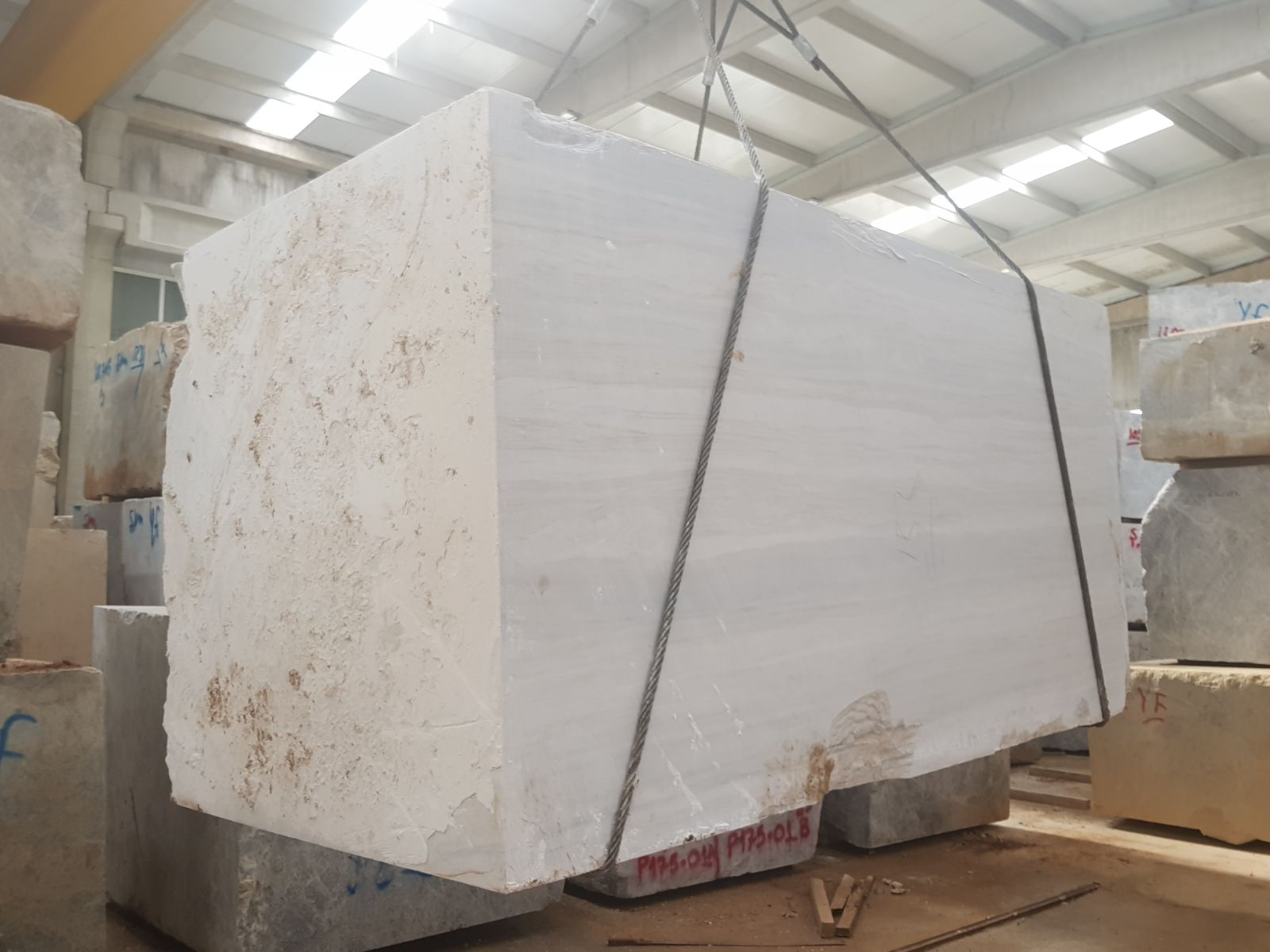 Turkish Grey Marble Blocks
