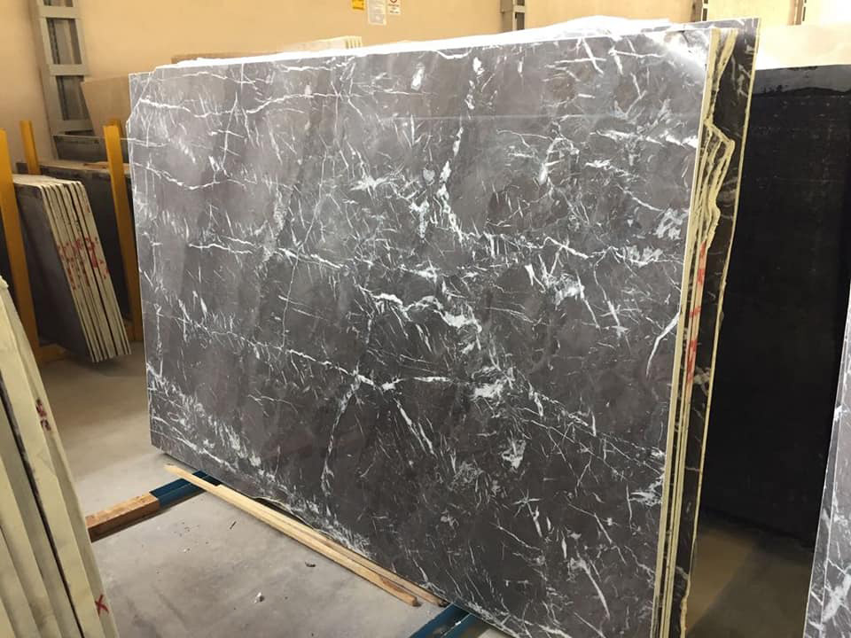 Turkish Grey Marble Polished Slabs