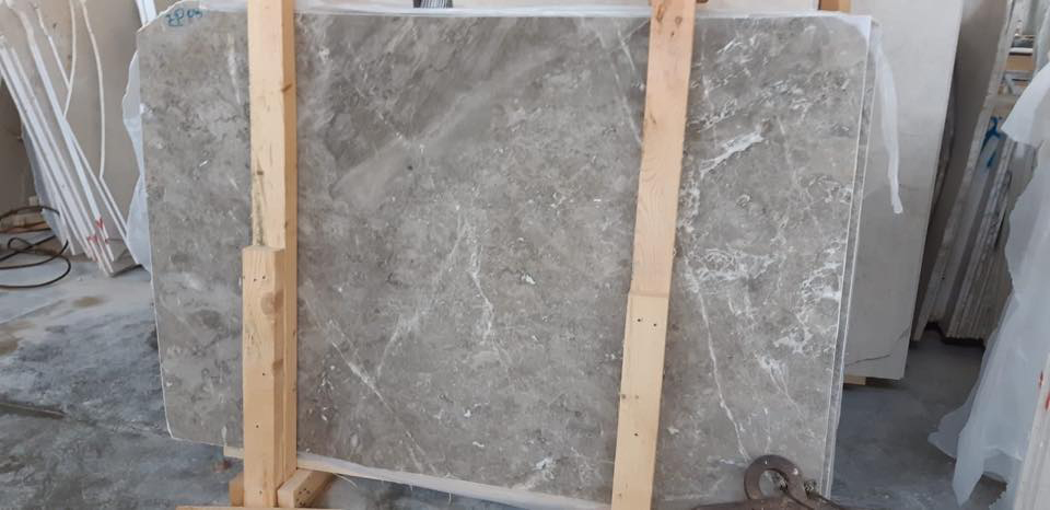 Turkish Grey Marble Slabs Olympus Grey Slabs