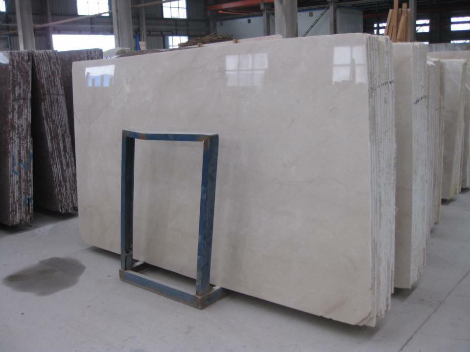 Turkish Latmos Beige Marble Polished Slabs