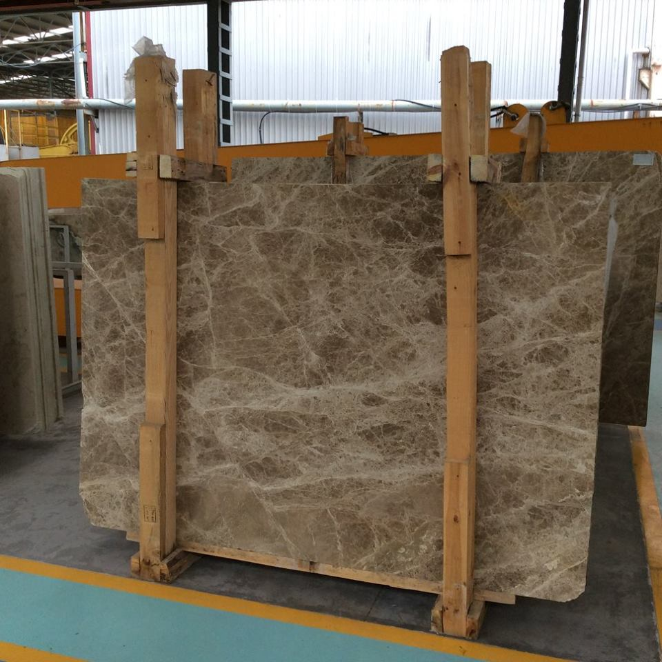 Turkish Light Emperador Marble Slabs Brown Marble Slabs