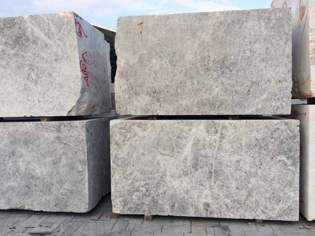 Turkish Marble Tundra Grey Natural Stone Blocks