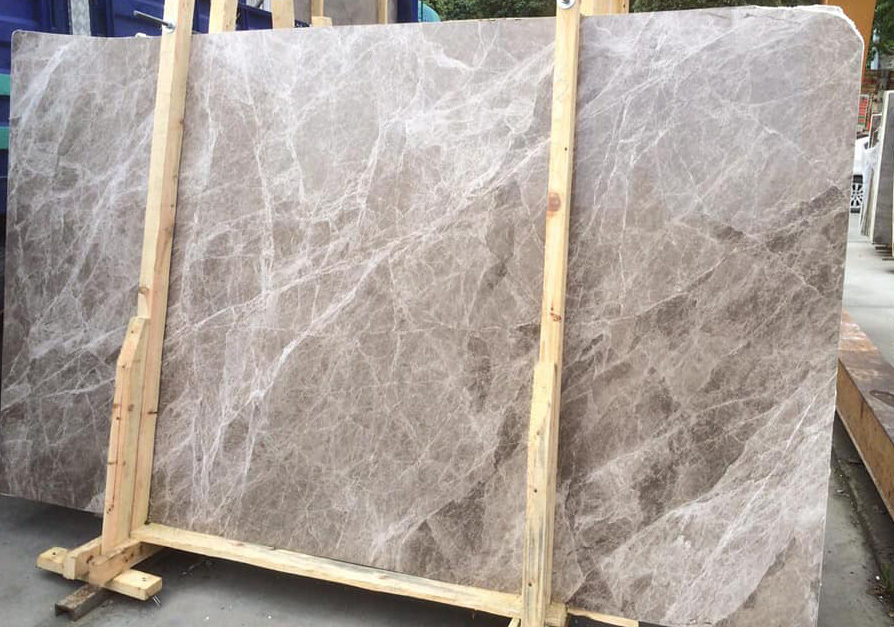 Turkish Marron Brown Marble Slabs