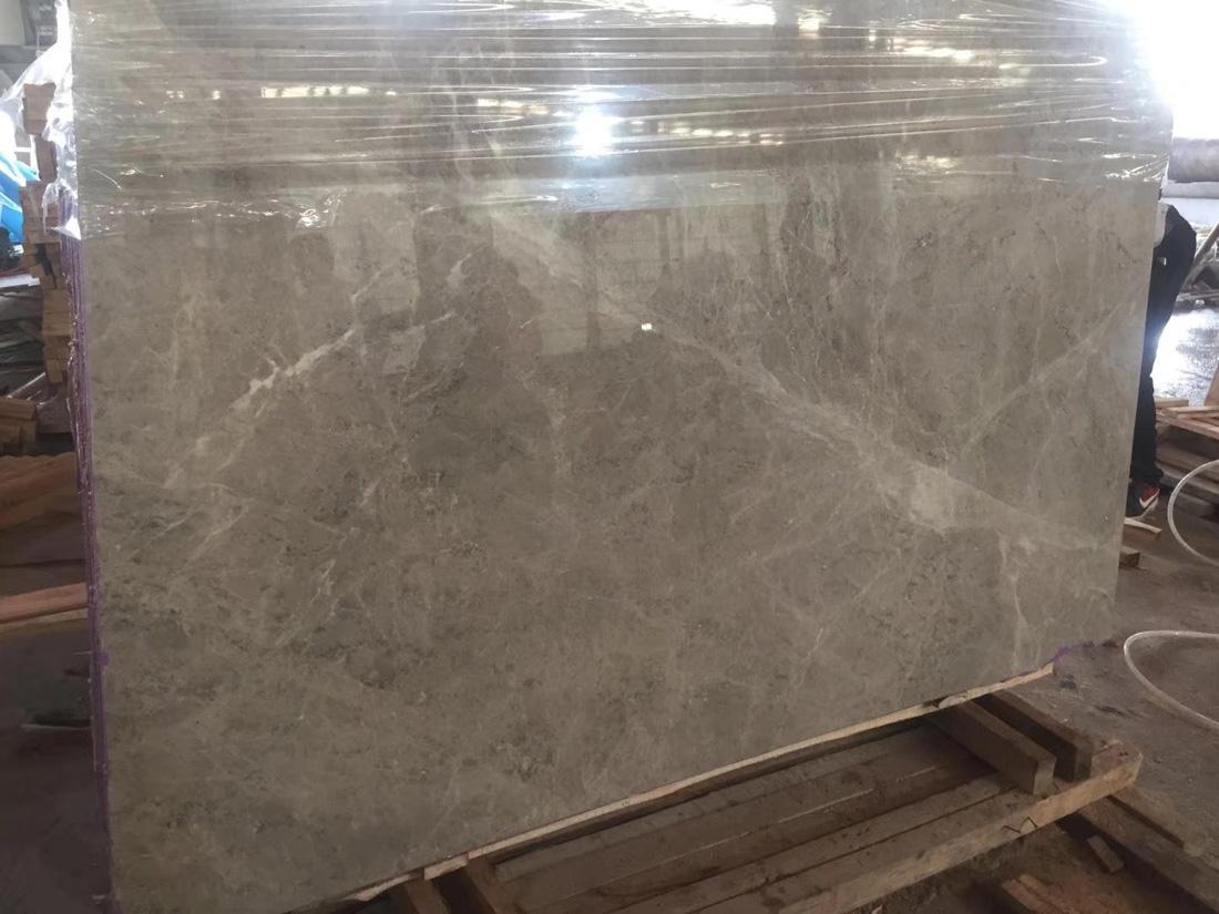 Turkish Maya Gray Polished Grey Marble Slabs