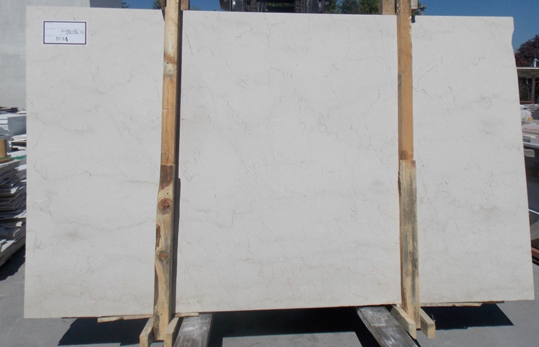 Turkish Meleni Beige Polished Marble Stone Slabs
