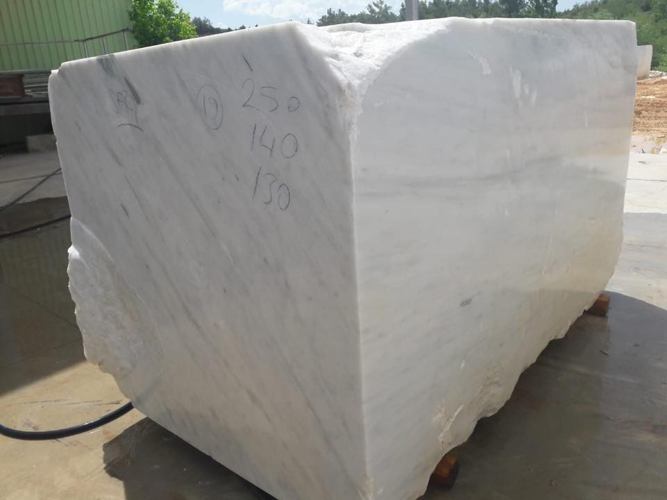 Turkish Mugla White Block White Marble Blocks