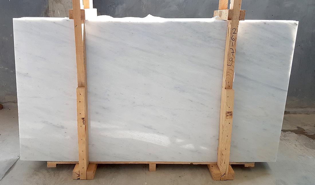Turkish Mugla White Marble Polished Stone Marble Slabs