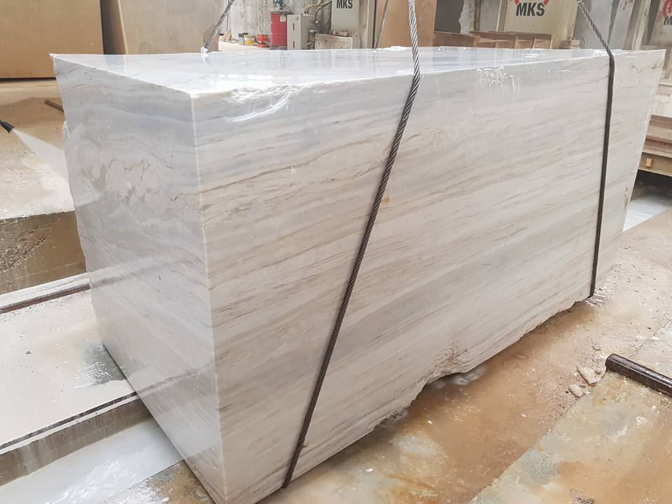 Turkish Natural Grey Marble Blocks