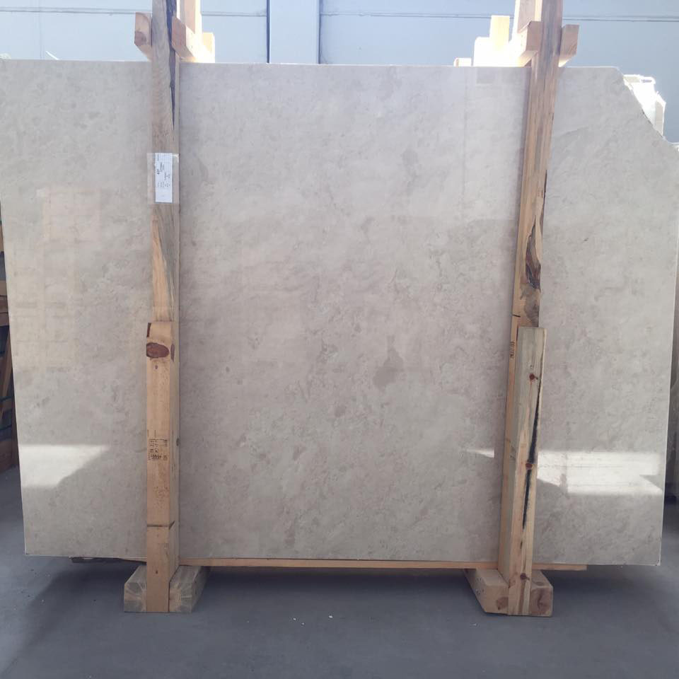 Turkish Ottoman Beige Polished Slabs
