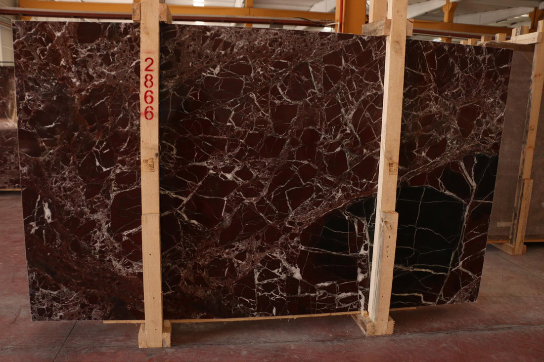 Turkish Red Marble Slabs Rosso Levanto 2CM Slabs