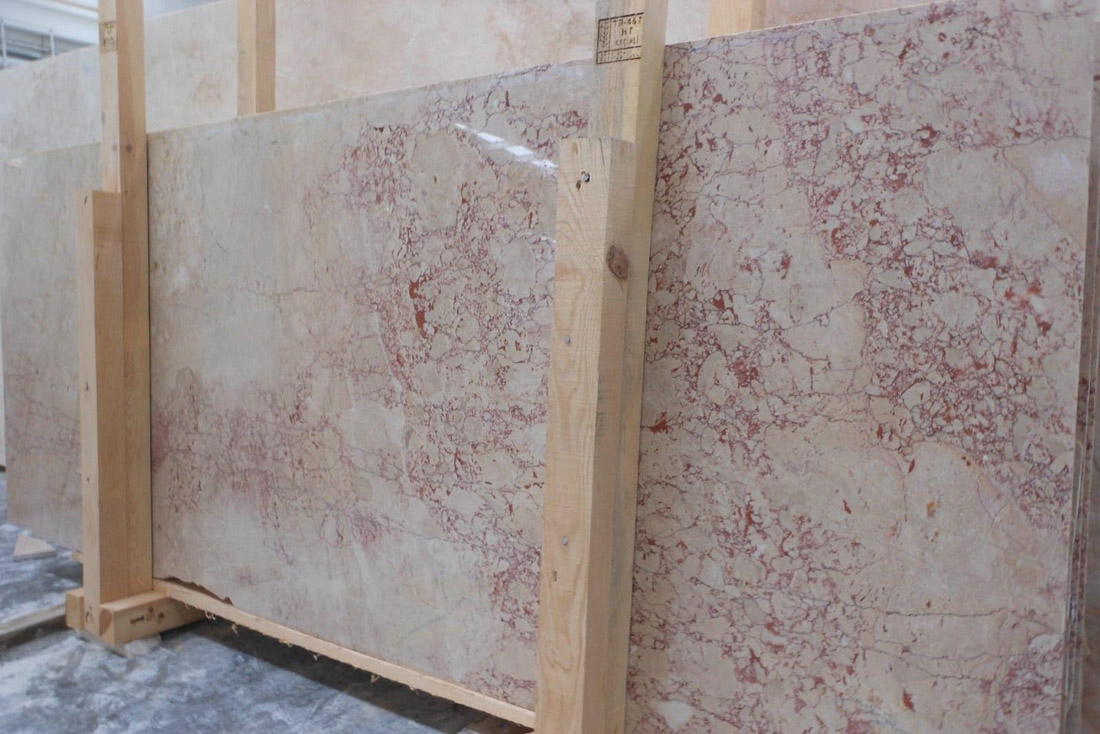 Turkish Rosalia Marble Beige Marble Slabs