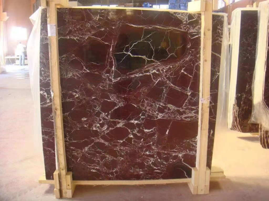 Turkish Rosso Levanto Marble Slabs Red Marble Stone Slabs